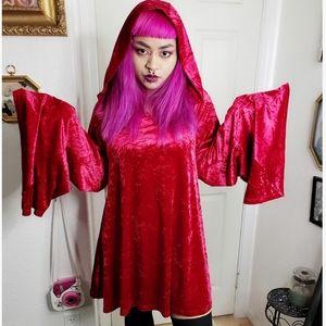 Killstar hooded dress